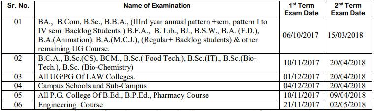 summer exam 2017